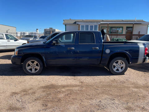 2006 Dodge Dakota for sale at PYRAMID MOTORS - Fountain Lot in Fountain CO
