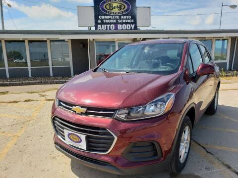 2017 Chevrolet Trax for sale at BERG AUTO MALL & TRUCKING INC in Beresford SD