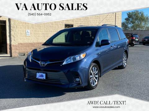 2018 Toyota Sienna for sale at Va Auto Sales in Harrisonburg VA