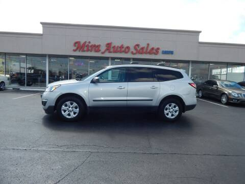 2014 Chevrolet Traverse for sale at Mira Auto Sales in Dayton OH
