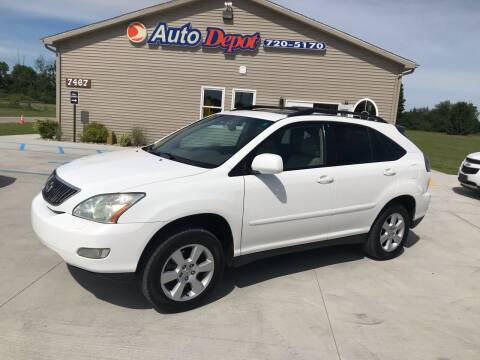 2004 Lexus RX 330 for sale at The Auto Depot in Mount Morris MI