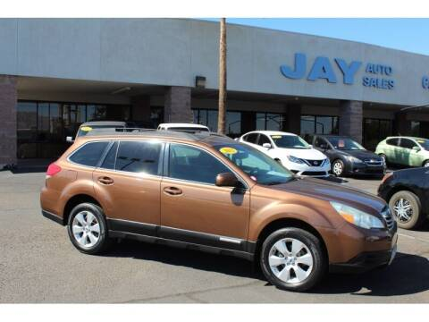 2012 Subaru Outback for sale at Jay Auto Sales in Tucson AZ