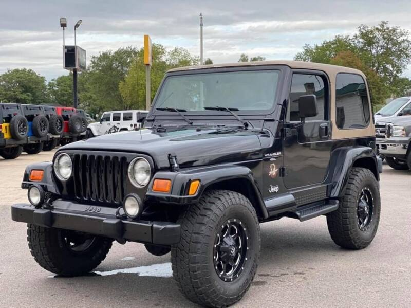2000 Jeep Wrangler for sale at Island Auto Off-Road & Sport in Grand Island NE