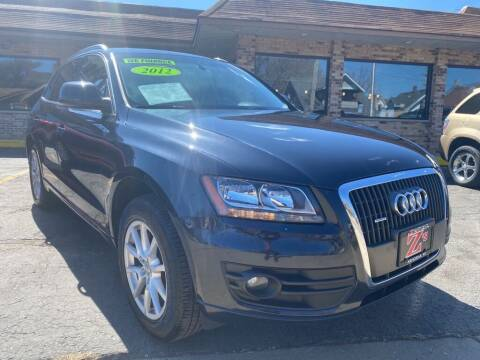 2012 Audi Q5 for sale at Zs Auto Sales in Kenosha WI