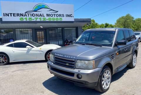 2009 Land Rover Range Rover Sport for sale at International Motors Inc. in Nashville TN