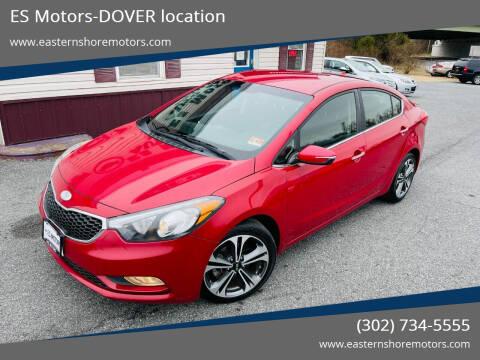 2014 Kia Forte for sale at ES Motors-DAGSBORO location - Dover in Dover DE