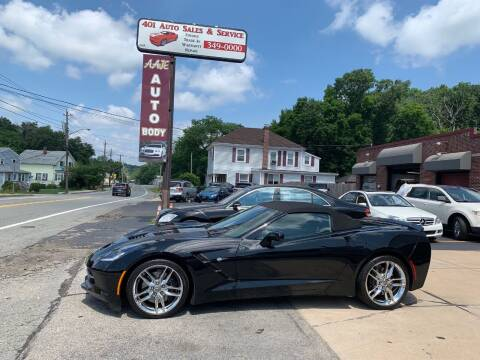 2014 Chevrolet Corvette for sale at 401 Auto Sales & Service in Smithfield RI