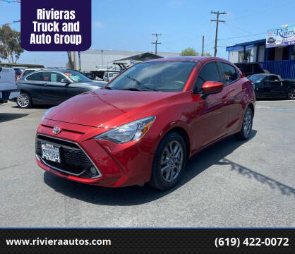 2019 Toyota Yaris for sale at Rivieras Truck and Auto Group in Chula Vista CA
