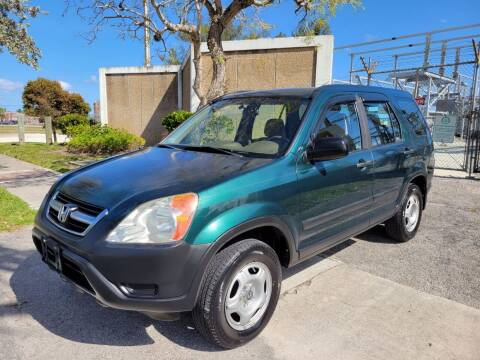 2003 Honda CR-V for sale at FIRST FLORIDA MOTOR SPORTS in Pompano Beach FL