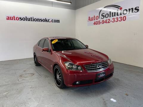 2006 Infiniti M35 for sale at Auto Solutions in Warr Acres OK