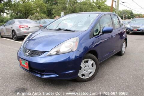 2013 Honda Fit for sale at Virginia Auto Trader, Co. in Arlington VA