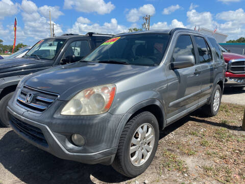 2005 Honda CR-V for sale at EXECUTIVE CAR SALES LLC in North Fort Myers FL