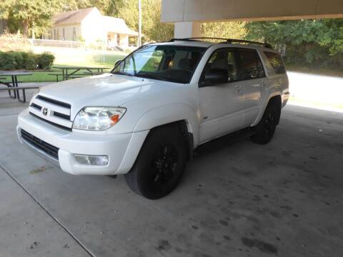 2003 Toyota 4Runner for sale at Cooper's Wholesale Cars in West Point MS