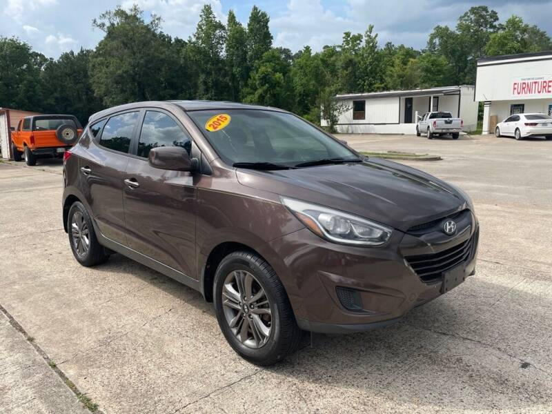 2015 Hyundai Tucson for sale at AUTO WOODLANDS in Magnolia TX