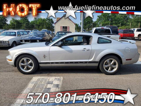 2006 Ford Mustang for sale at FUELIN FINE AUTO SALES INC in Saylorsburg PA
