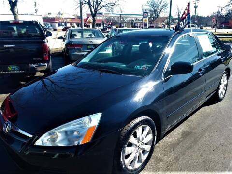2007 Honda Accord for sale at Oak Hill Auto Sales of Wooster, LLC in Wooster OH