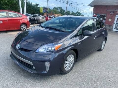 2012 Toyota Prius Plug-in Hybrid for sale at Sam's Auto in Akron PA