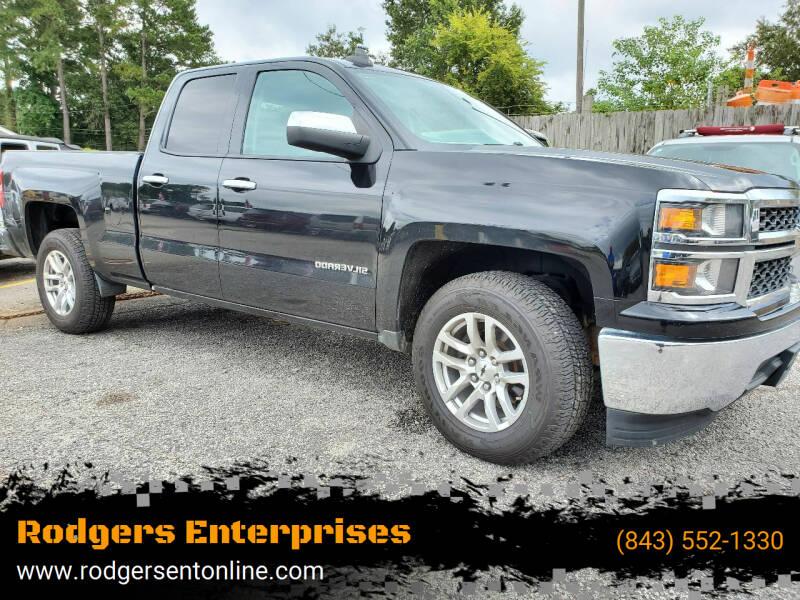 2015 Chevrolet Silverado 1500 for sale at Rodgers Enterprises in North Charleston SC