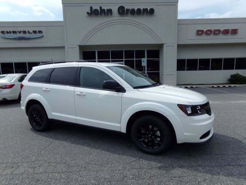 2020 Dodge Journey for sale at John Greene Chrysler Dodge Jeep Ram in Morganton NC