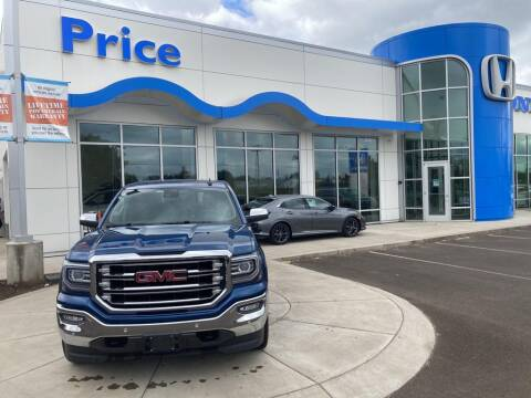 2018 GMC Sierra 1500 for sale at Price Honda in McMinnville in Mcminnville OR