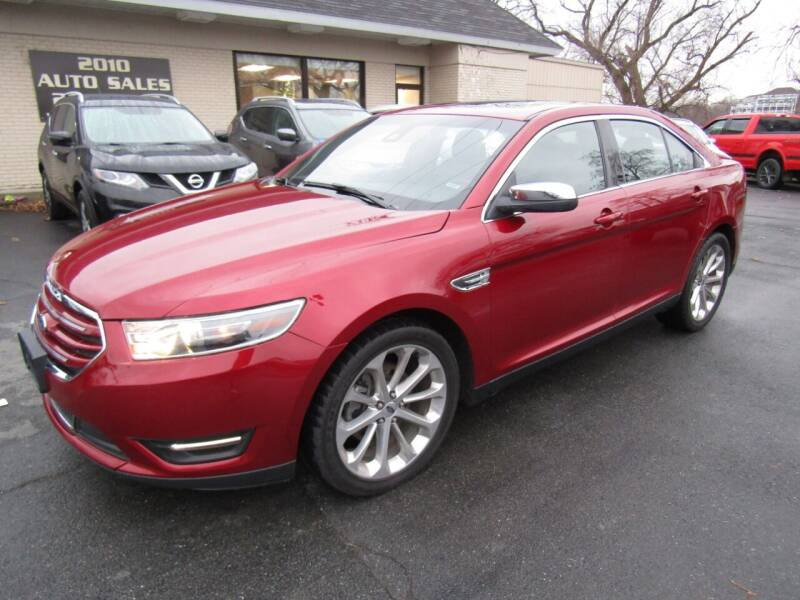 2017 Ford Taurus for sale at 2010 Auto Sales in Troy NY