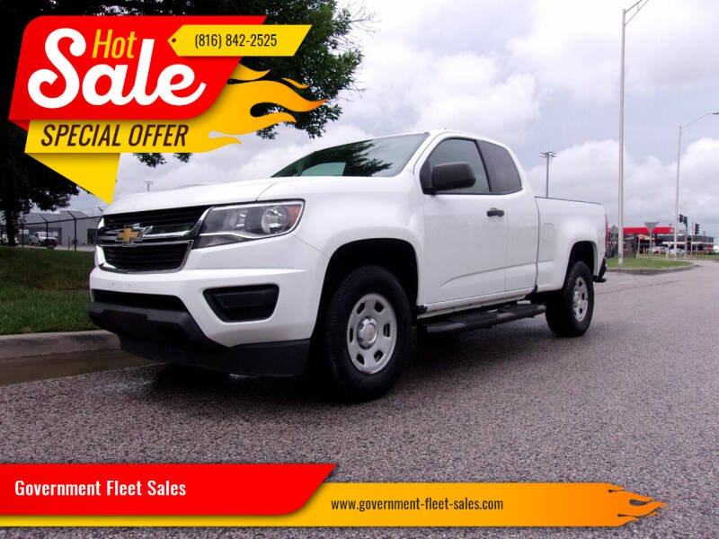 2015 Chevrolet Colorado for sale at Government Fleet Sales in Kansas City MO