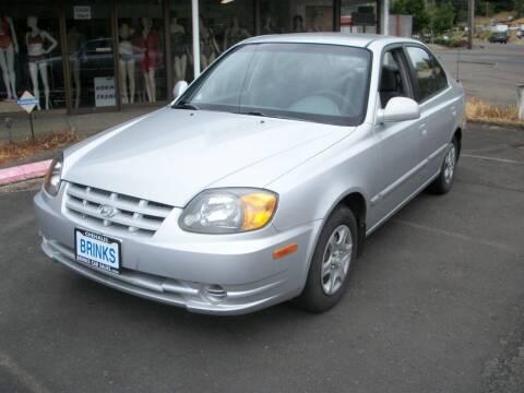 2004 Hyundai Accent for sale at Brinks Car Sales in Chehalis WA
