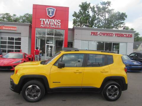 2018 Jeep Renegade for sale at Twins Auto Sales Inc in Detroit MI