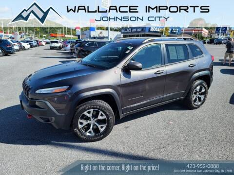 2016 Jeep Cherokee for sale at WALLACE IMPORTS OF JOHNSON CITY in Johnson City TN