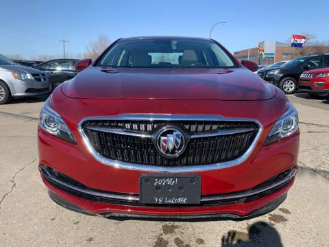 2017 Buick LaCrosse for sale at Minuteman Auto Sales in Saint Paul MN