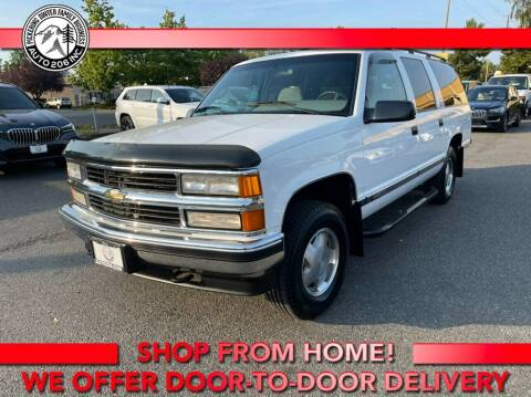 1995 Chevrolet Suburban for sale at Auto 206, Inc. in Kent WA