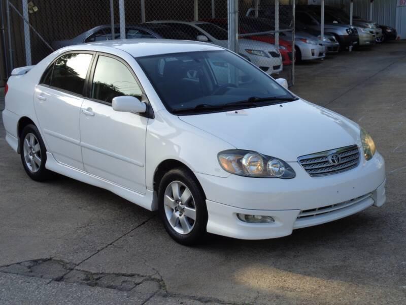2006 Toyota Corolla for sale at Auto Starlight in Dallas TX