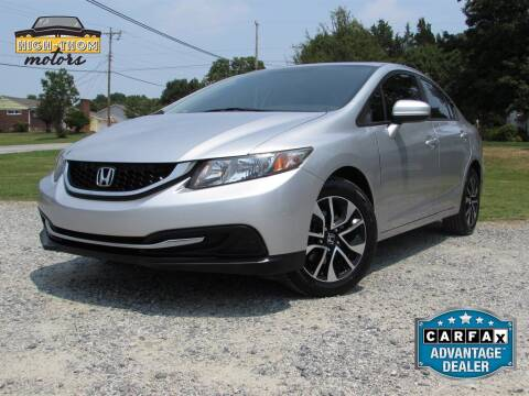 2015 Honda Civic for sale at High-Thom Motors in Thomasville NC