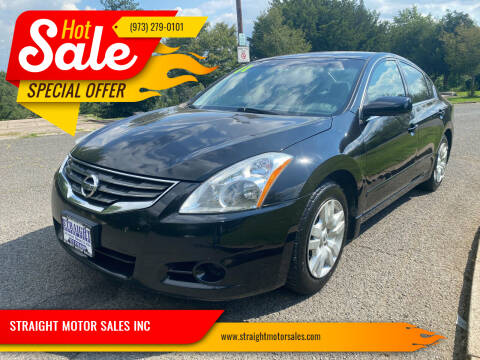 2011 Nissan Altima for sale at STRAIGHT MOTOR SALES INC in Paterson NJ