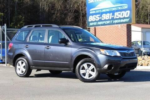 2011 Subaru Forester for sale at Skyline Motors in Louisville TN
