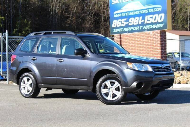 2011 Subaru Forester for sale at Skyline Motors in Louisville TN