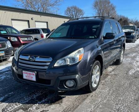 2013 Subaru Outback for sale at QS Auto Sales in Sioux Falls SD