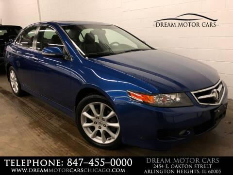 2007 Acura TSX for sale at Dream Motor Cars in Arlington Heights IL