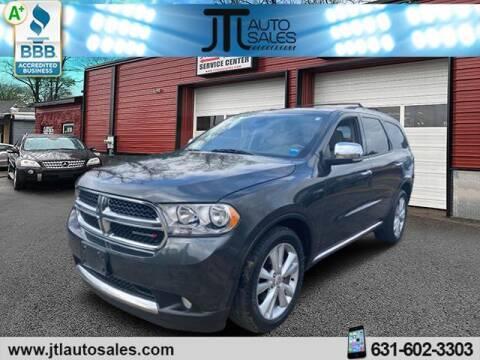2011 Dodge Durango for sale at JTL Auto Inc in Selden NY