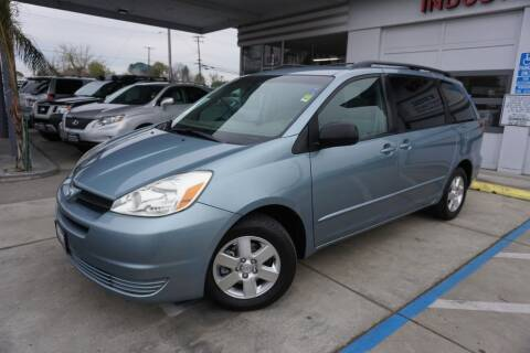 2005 Toyota Sienna for sale at Industry Motors in Sacramento CA