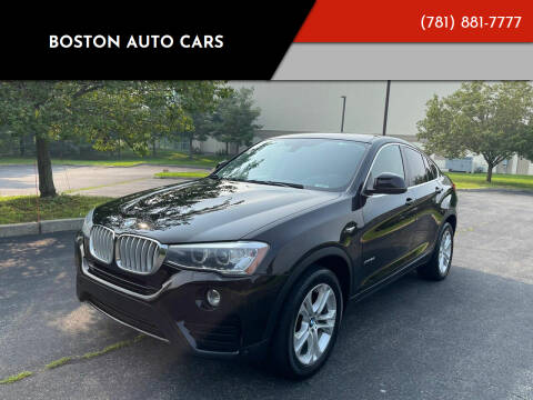 2016 BMW X4 for sale at Boston Auto Cars in Dedham MA