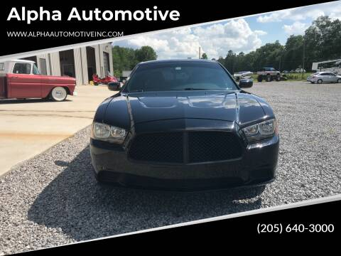 2014 Dodge Charger for sale at Alpha Automotive in Odenville AL