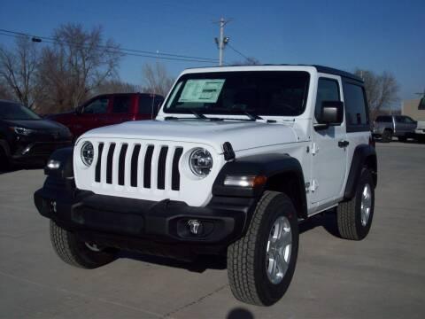 2021 Jeep Wrangler for sale at Nemaha Valley Motors in Seneca KS