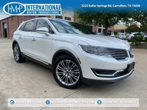 2016 Lincoln MKX for sale at International Motor Productions in Carrollton TX