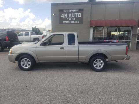 2003 Nissan Frontier for sale at 4M Auto Sales | 828-327-6688 | 4Mautos.com in Hickory NC