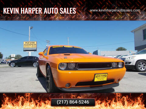 2012 Dodge Challenger for sale at Kevin Harper Auto Sales in Mount Zion IL