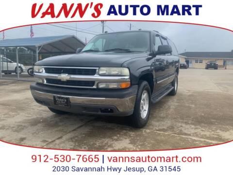 2005 Chevrolet Suburban for sale at VANN'S AUTO MART in Jesup GA