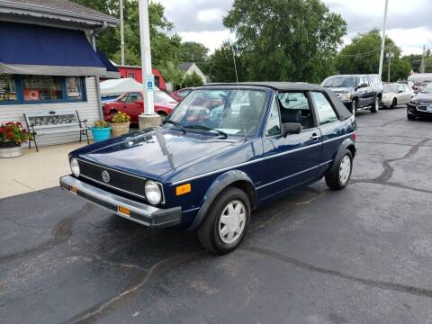 1987 Volkswagen Cabriolet for sale at Advantage Auto Sales & Imports Inc in Loves Park IL