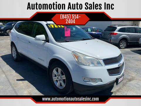 2009 Chevrolet Traverse for sale at Automotion Auto Sales Inc in Kingston NY