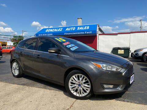 2015 Ford Focus for sale at Gonzalez Auto Sales in Joliet IL